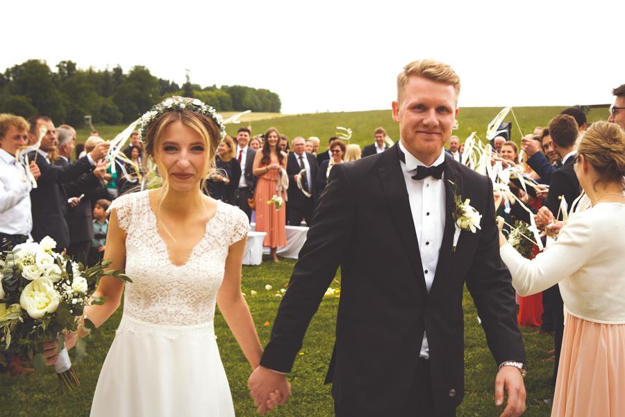 Freudentränen beim Hochzeitspaar!