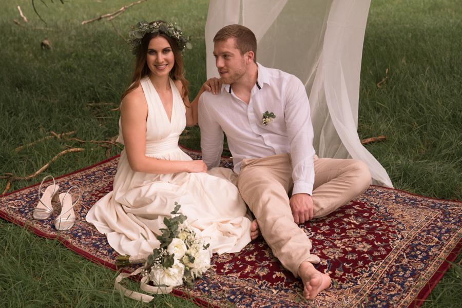 Entspannte Hochzeit im kleinen Kreis