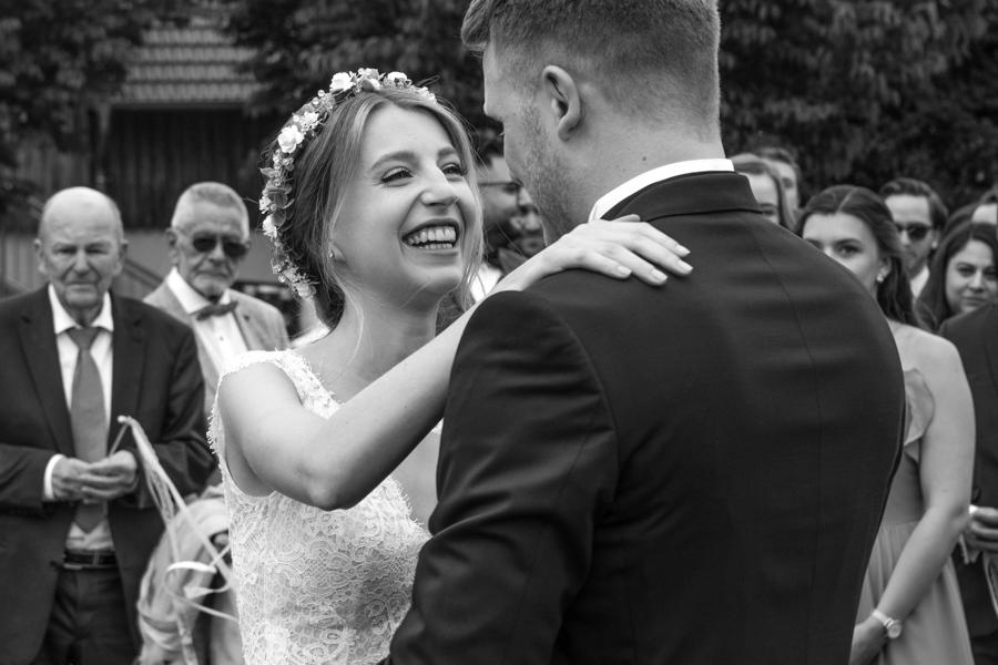 Emotionen pur bei der Hochzeit!